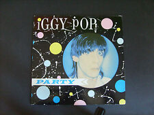 vynil disque  IGGY  POP PARTY