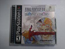 Final Fantasy Origins PS1 (Sony PlayStation 1, 2003) Complete