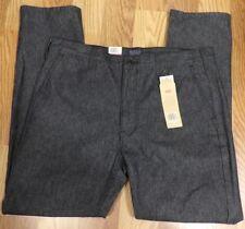 Levis Mens Charcoal Black Flap Pockets Hybrid Utility Pants Size 40x32 PC687