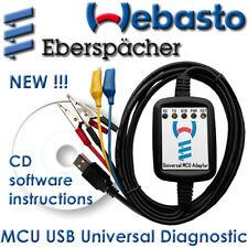 MCU Webasto Eberspacher Diagnostic USB Adapter Cable Interface Heaters WTT EDiTH