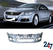 VOLKSWAGEN TIGUAN 2008-2011 FRONT BUMPER WITH PDC AND WASHER HOLES PRIMED