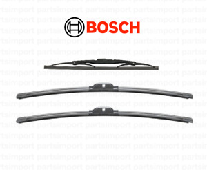 Wiper Blade Set (Rear + Front Right + Front Left) BOSCH for Audi A4 AVANT