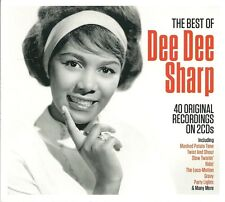 THE BEST OF DEE DEE SHARP - 2 CD BOX SET - MASHED POTATO TIME, RIDE & MORE