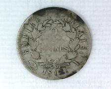 FRANCE - NAPOLEON 1er - 2 FRANCS 1812 I LIMOGES - F 255 (43)