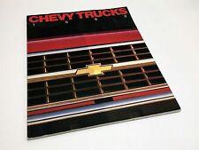 1989 Chevrolet S-10 Full-Size Pickup Blazer Suburban Sportvan Brochure