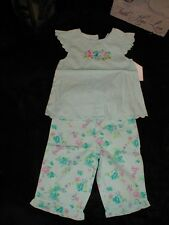 NWT Summer Pants Turquoise Ruffle  Outfit for 24 month SUPER CUTE!!