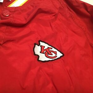 Kansas City Chiefs Starter Pro Line sideline jacket size 2XL Mahomes Beautiful