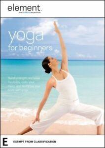 Element YOGA for BEGINNERS (Elena BROWER) Health Fitness Flexibility DVD Reg 4