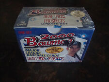 2000 Bowman Draft Picks & Prospects Update---Complete Set---Sealed---1 Auto./Box