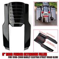 9'' Kotflügelverlängerung Hinten Rear Fender Extension für Harley 1996-2008