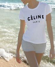 Paris Cotton Short Sleeve Plus Size T-Shirts for Women