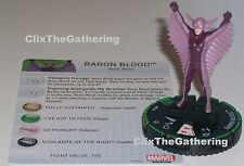 BARON BLOOD #031B Nick Fury Agent of S.H.I.E.L.D Marvel HeroClix Prime