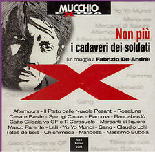 "GANG AFTERHOURS BANDABARDO' BUBOLA - CD "" NON PIU' I CADAVERI... "" DE ANDRE'"