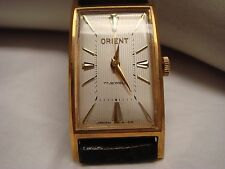VINTAGE NEW OLD STOCK ORIENT  LADY SPORTS 17 JEWELS  STAINLESS STEEL