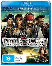 Pirates Of The Caribbean - On Stranger Tides (Blu-ray, 2011, 2-Disc Set)