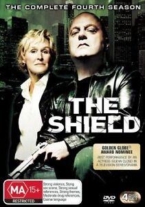 The Shield Season 4 DVD Series Four Forth - AUSTRALIAN REGION 4 RELEASE