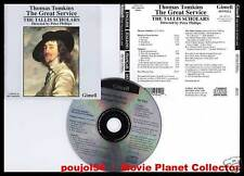 "TOMKINS ""The Great Service"" (CD) Tallis Scholars 1991"
