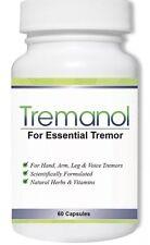 60 Tremanol Natural Aid Essential Tremor RELIEF Hand ArmLeg Voice Tremors 3/2020