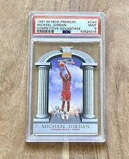 1997-98 Skybox Premium Competitive Advantage #CA3 Michael Jordan PSA MINT 9