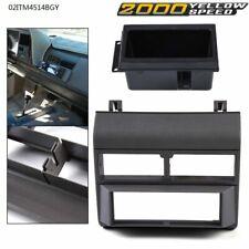 Stereo Radio Gray Dash Kit Pocket Bezel Fit For Chevy Gmc Trucks 88 94 Car Us