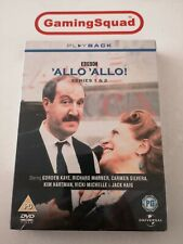 Allo Allo Series 1 & 2 NEW DVD, Supplied by Gaming Squad