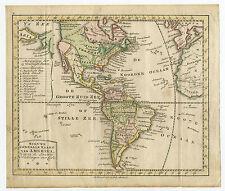 Antique Print-NORTH AMERICA-SOUTH-CANADA-Van Krevelt-c. 1780