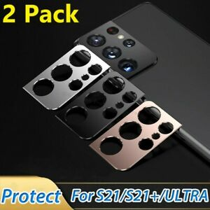 2x Metal Camera Lens Protector for Samsung Galaxy S20 fe S21 Plus Note 20 Ultra