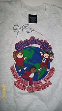 CABBAGE PATCH KIDS convention TEE SHIRT CAMP CABBAGE 96 HANDSIGNED