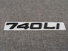 """Black """" 740Li """" Number Trunk Letters Badge Emblem Sticker for BMW 7 Series 740Li"""