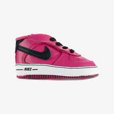 NIKE BABY SHOES CRIB SNEAKERS FORCE 1 GIFT INFANT NEWBORN PINK GIRL'S SIZE 1C
