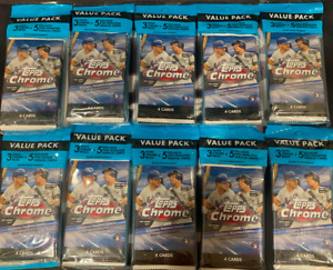 SEATTLE MARINERS - Topps Chrome (10) Cello Pack LIVE BOX BREAK