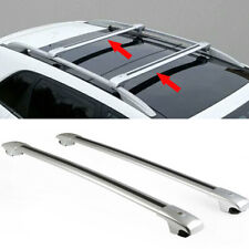 2xSilvery Roof Rack Luggage Carrier Baggage Holder Frame For Ford Escape 2013-20
