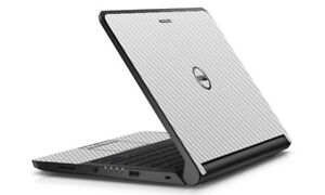 LidStyles Carbon Fiber Laptop Skin Protector Decal Dell Latitude 3340