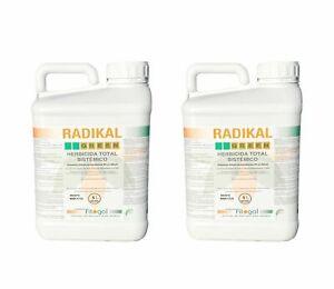 Désherbant Herbicide Total Glyphosat RADIKAL 2x5L concentré livraison gratuite