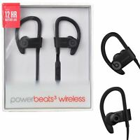 Beats by Dre PowerBeats3 Wireless Bluetooth Ear-Hook Headphones Earphones Black