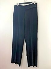 JACQUI E Size 14 Womens Black Straight Work Party Cocktail Trousers Pants
