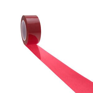 1 Red Polyester Tape 50.8mm x 66m, Powder Coating, High Temp Masking Tape
