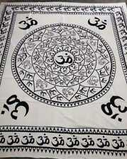 Indian Gypsy Mandala Tapestry Throw Bedspread Queen Decor Hippie Wall Throw 124