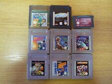 9 x Gameboy Spiele  aus Sammlung FUNKTIONSGEPRÜFT