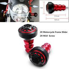 2X Motorcycle Exhaust Frame Slider Falling Protector Anti Crash Caps Universal