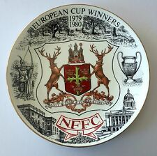 Nottingham Forest Plate Victory 1980 European Championship Special Edition