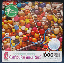 jigsaw puzzle 1000 pc Walter Wick Can You See What I See? Baubles and Beads