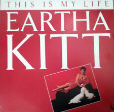 "EARTHA KITT 12"" SINGLE THIS IS MY LIFE MADE IN AUSTRALIA 1986"