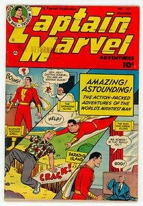 JERRY WEIST ESTATE: CAPTAIN MARVEL ADVENTURES #127 (Fawcett 1951) VG+! NR!