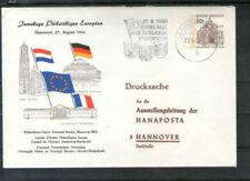 Ungeprüfte Briefmarken aus der BRD (ab 1948) als Bedarfsbrief mit Bauwerks-Motiv