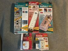 One (1) Belkin Surge Protector w/ Phone Jacks●1•7•8 Outlets●none or 6' Cord●New