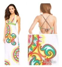 NWT $164 Sz Small S Trina Turk CARNAVAL Maxi Dress Swim Cover
