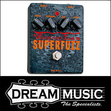 Voodoo Lab Superfuzz Fuzz / Distortion Guitar FX Pedal RRP$319