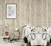 D71 5158-1 Wood Wood Grain Non Woven Fabric Restaurant Wallpaper Length 10M Y