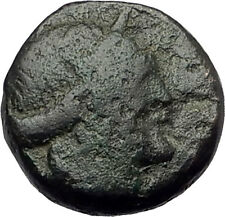 Thessalonica in Macedonia 148BC Ancient Greek Coin ARTEMIS w BOW & QUIVER i62375
